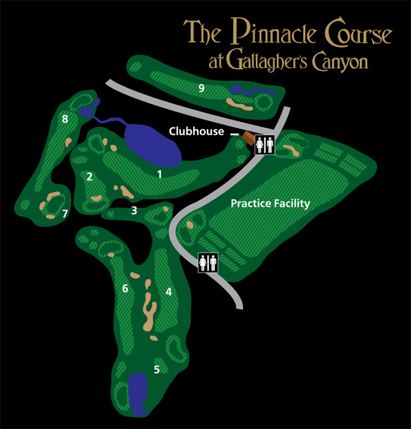 Pinnacle Course Map